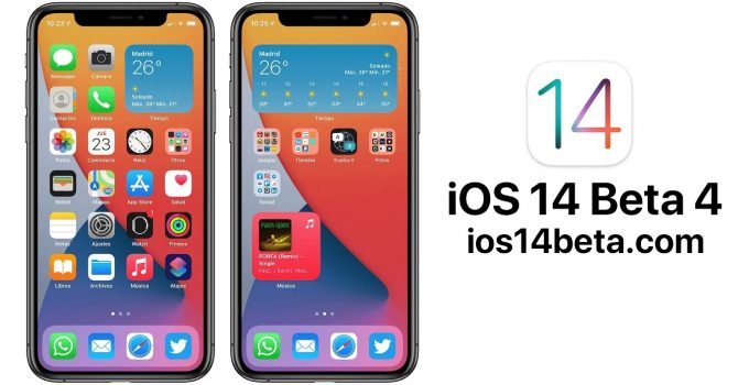 iOS 14 Beta 4 Download