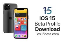 ios 15 beta profile download